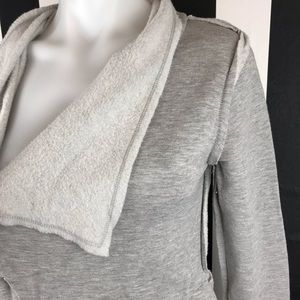 90 Degree By Reflex Sweaters - 5 for $25 90 Degrees Gray Open Front Cardigan